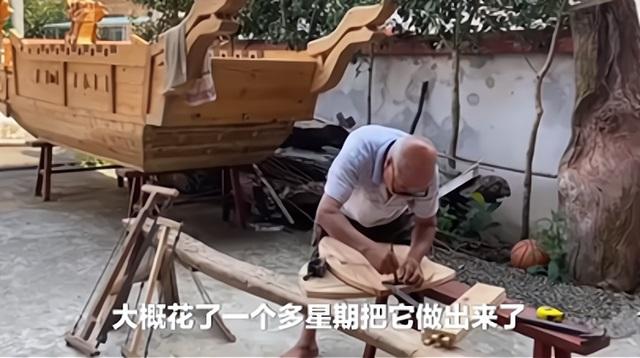 """高手在民间,木匠爷爷给孙子做""""螃蟹车""""走红网络"""