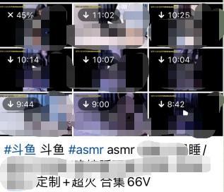 某二次元主播多部定制视频流出!